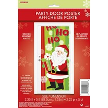 Santa Ho Ho Door Cover