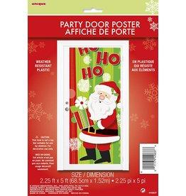 Santa Ho Ho Door Cover