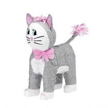 Gray Cat Pinata