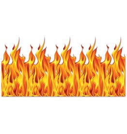 Flame Back Drop