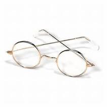 Santa Glasses Round