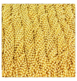 Case Of Throw Beads Gold