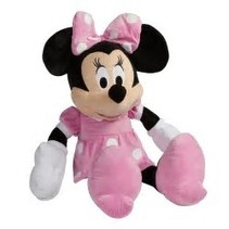 Pink Minnie Mouse Stuffed Animal