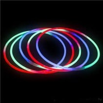 Tri-Color Glow Necklaces Tube of 50