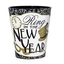 New Year Shot Glass
