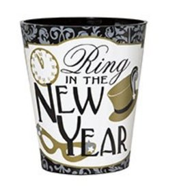 New Year Shot Glass