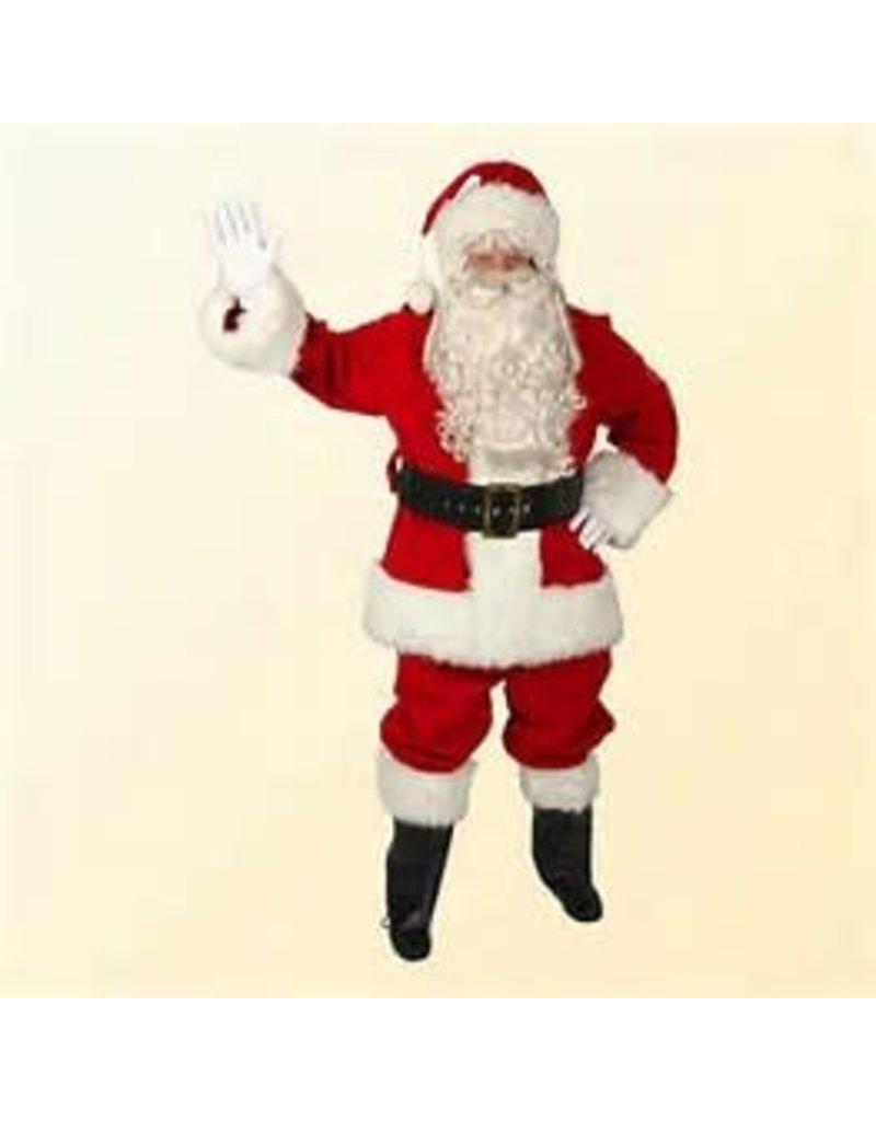 Regal Red Velvet Santa-Large