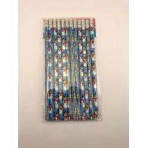 Snowman Pencils 12 piece package