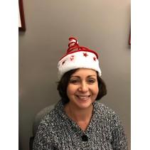 Santa Spring Hat