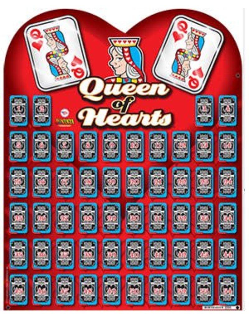 QUEEN OF HEARTS BOARD