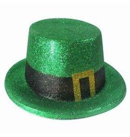 St. Patrick's Glitter Top Hat