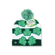 St Pat Lite Up Knitted Cap