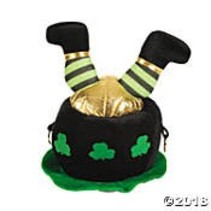 Leprechaun Feet Hat