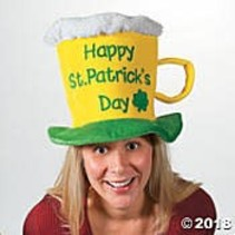 St. Patrick's Beer Mug Hat