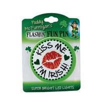 St Pat Flashin Fun Pins & Necklaces