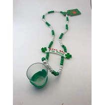 St. Pat's Bead with Shot Glass