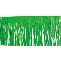 """Vinyl Fringe Grass Green 15""""x10'"""