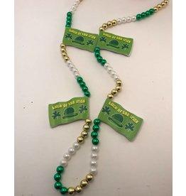 Luck Of the Irish Flag Beads