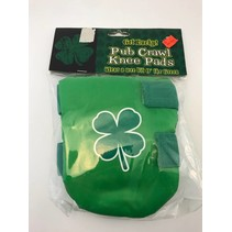 Shamrock Pub Crawl Knee Pads