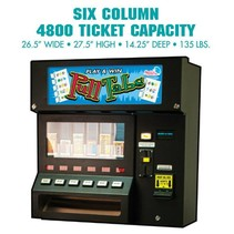 4800 Six Column Pulltab Vending Machine