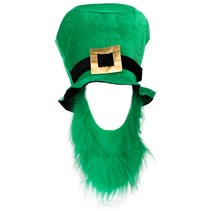 St Pat Top Hat with green beard