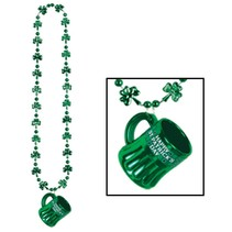Shamrock Beads with St Pat mug