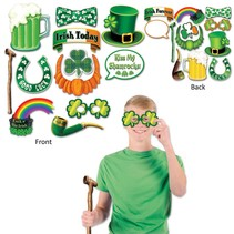 St Pat Photo Props- package of 12