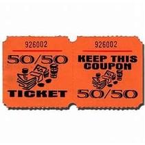 50/50 Wide Raffle Tickets