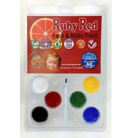 Face Paint Kit 6 Color Pack