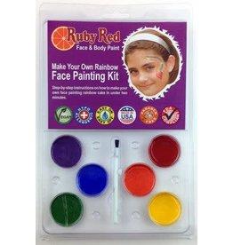 Face Paint Kit Rainbow Pack