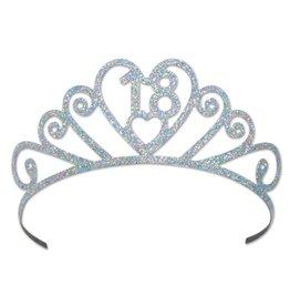 18-Glittered Tiara