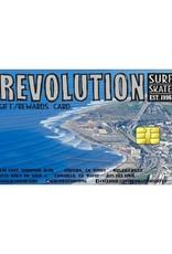REVOLUTION GIFT CERTIFICATE