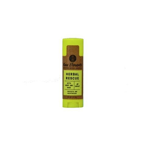 RAW ELEMENTS HERBAL LIP RESCUE 0.15OZ