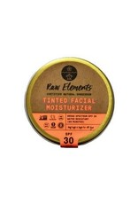 RAW ELEMENTS TINTED FACIAL MOISTURIZER SPF30 1.8OZ