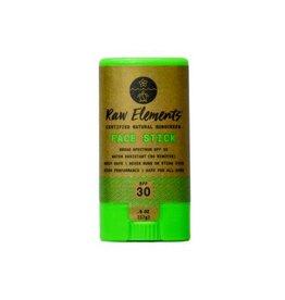 RAW ELEMENTS ECO FACE STICK SPF30 0.6OZ