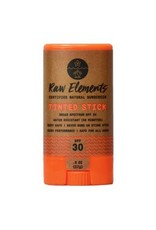 RAW ELEMENTS ECO TINTED FACE STICK SPF30 0.6OZ