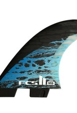 FCS FCS2 MB PC CARBON BLUE TRI LARGE