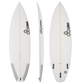 CHANNEL ISLANDS SURFBOARDS CI 5'9 BLACK / WHITE FCS2