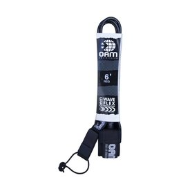 OAM OAM REGULAR 6' LEASH BLACK
