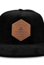 CHANNEL ISLANDS SURFBOARDS CI RANCH CORD HAT BLACK ONE
