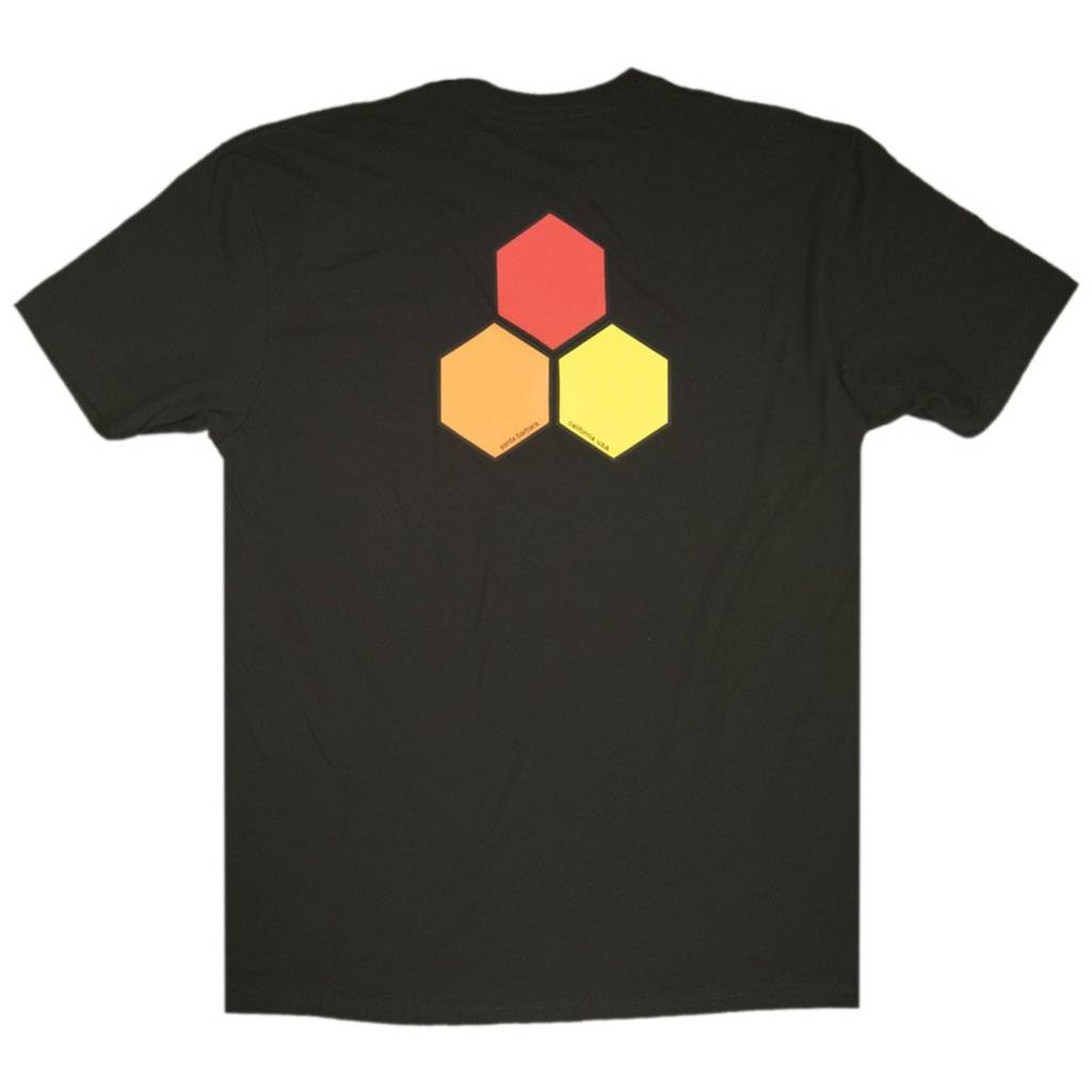 CHANNEL ISLANDS SURFBOARDS CI CURREN OG HEX TEE