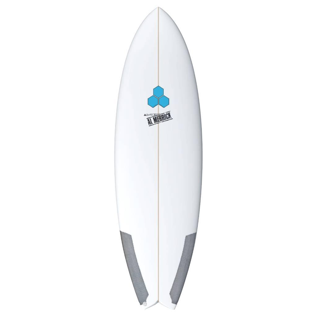 CHANNEL ISLANDS SURFBOARDS CI 5'8 POD MOD FCS2