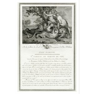Print on Paper US250 - ''De la Galerie de S.A.S Monseigneur Le Duc D'Orléans'' by Martin de Vos