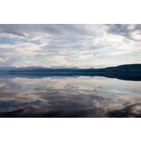 Facemount Acrylic - Peaceful Reflection 1/4 Inch Thick Acrylic Glass