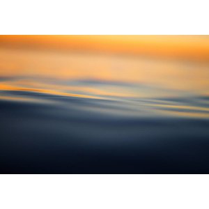 Facemount Acrylic - Dawn at Water 1/4 Inch Thick Acrylic Glass