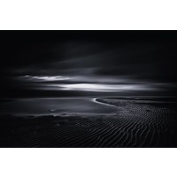 Facemount Acrylic - Night Tide 1/4 Inch Thick Acrylic Glass