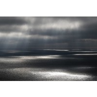 Facemount Acrylic - Rain on Water 1/4 Inch Thick Acrylic Glass