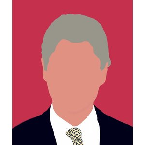 Print on Paper US250 - 42nd U.S. President by Michael Schleuse