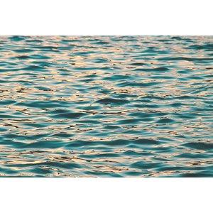 Facemount Metal - Ocean Deep Blue UV Printed on Metal