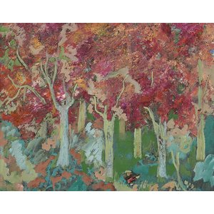"Print on Paper US250 - ""Fall Dreams"" by Ljubica Hajduka"
